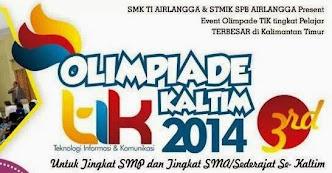 Olimpiade TIK 2014 Se-Kalimantan Timur