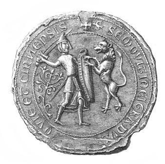 Pieczęć piesza Siemowita I (1255-1262)