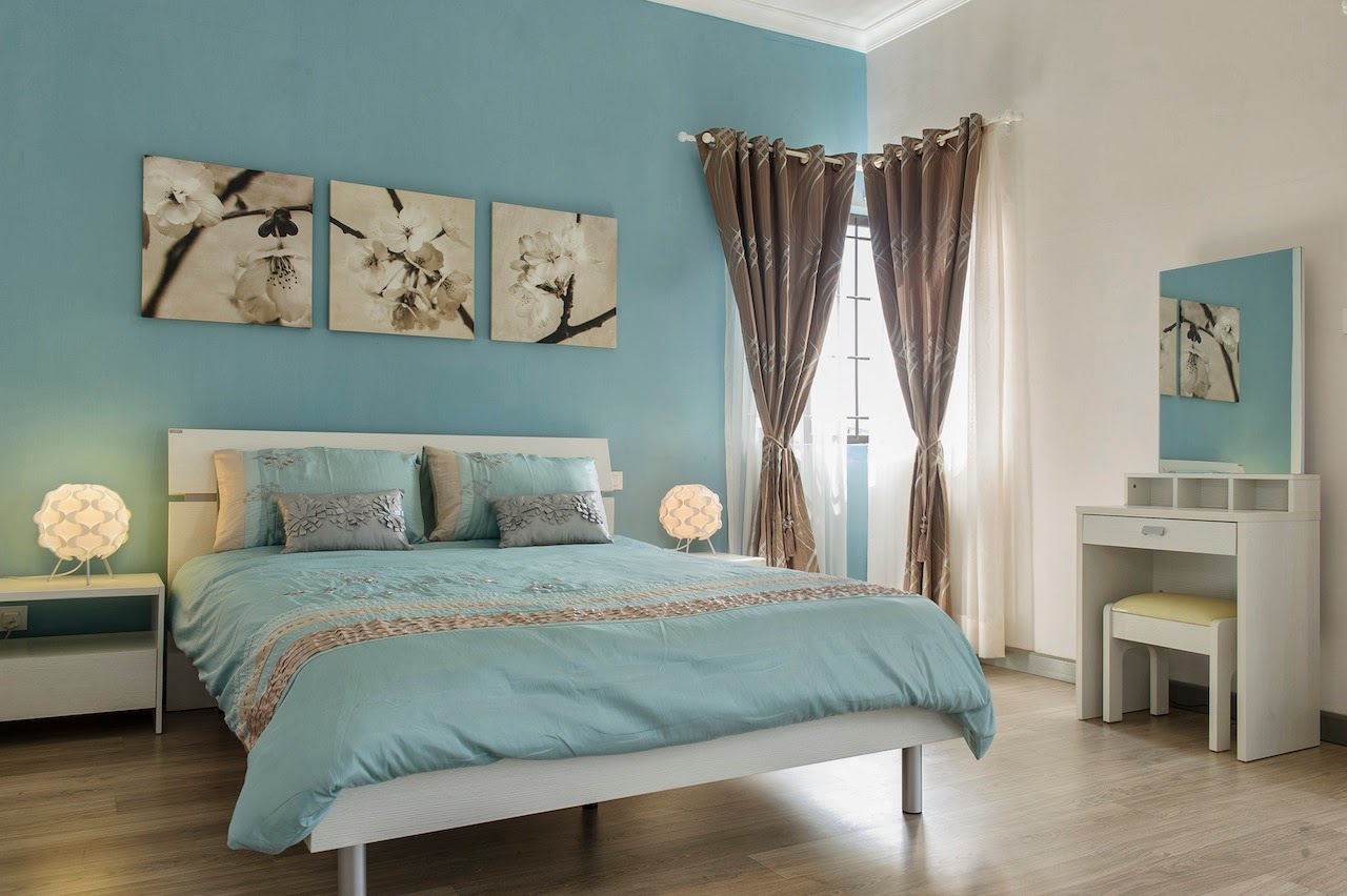 chambre ado turquoise et gris. Black Bedroom Furniture Sets. Home Design Ideas