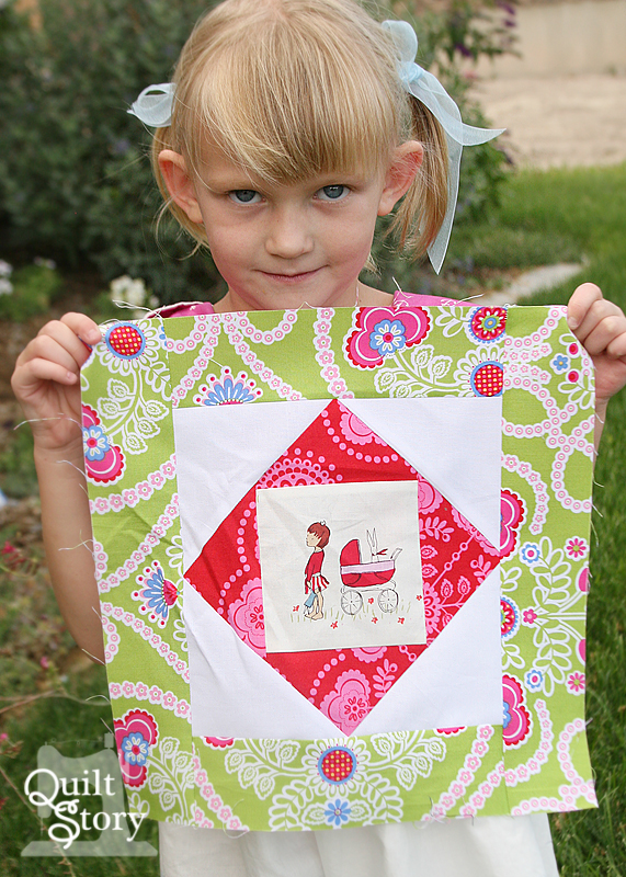 Quilt Story Block Of The Month August