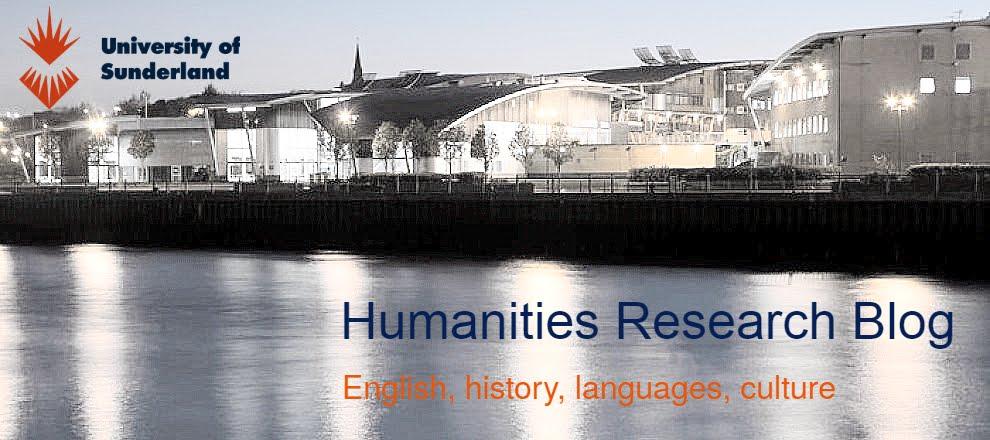Sunderland Humanities Research Blog