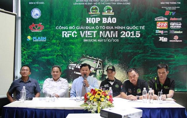 Họp báo RFC Việt Nam 2015