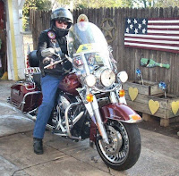 Dad riding out 09/09/2011