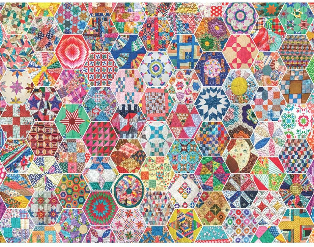 Great gift - quilt jigsaw puzzle!