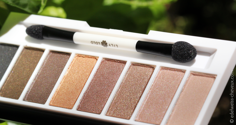 dupe naked palette lily lolo maquillage naturel