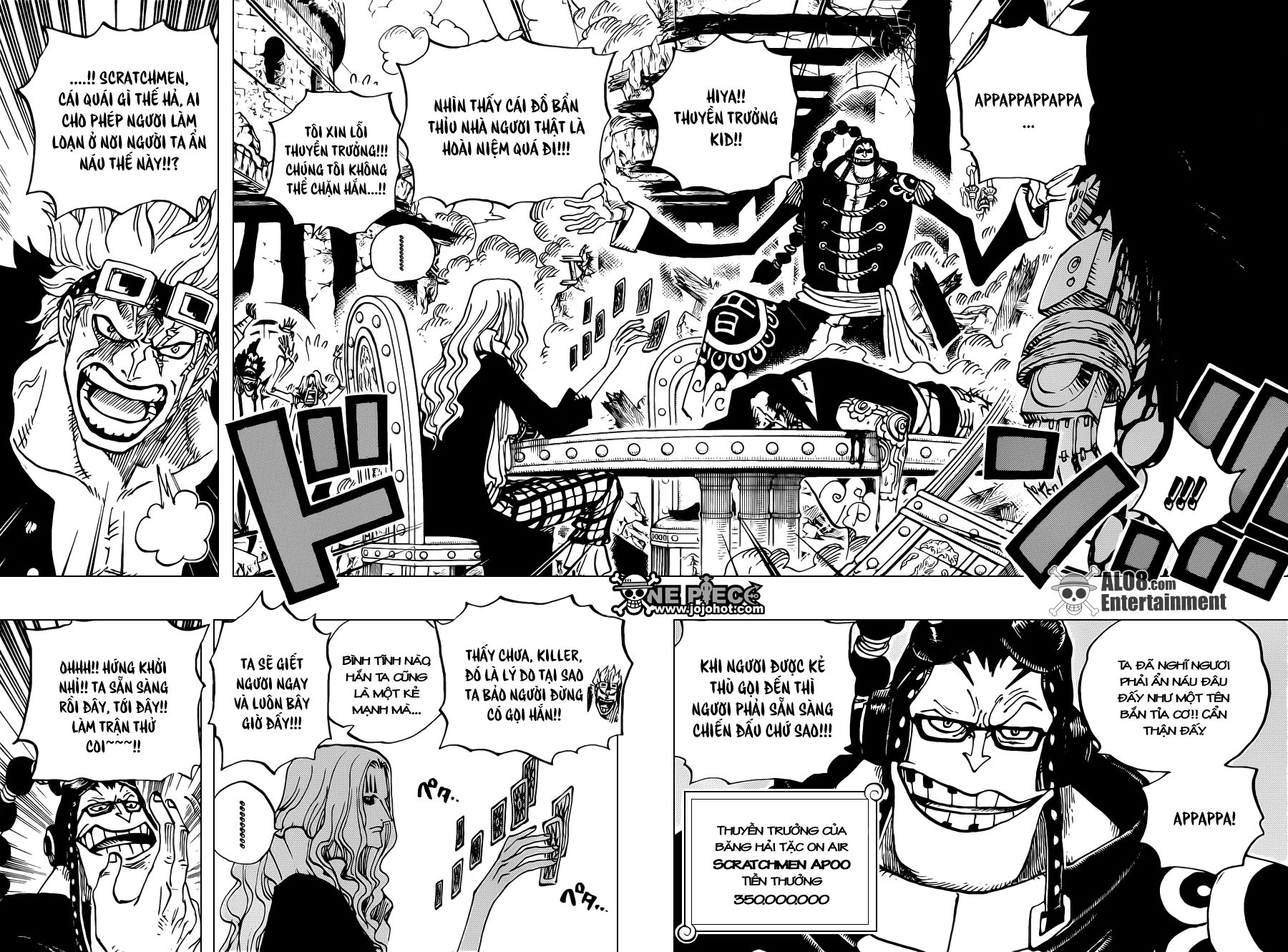 One Piece Chapter 677: Phản công ở Punk Hazard 004