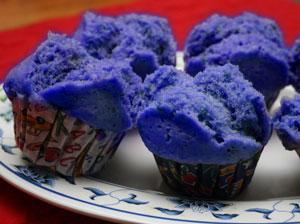 kue mangkok ubi jalar kukus ungu lezat legit dan empuk