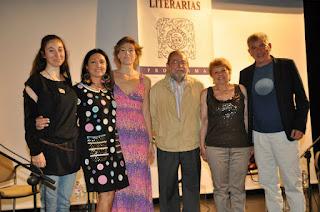 Gracia Iglesias, Carmen Jodra, Miguel Losada, Jesús Munárriz,Pepa Nieto, María Jesús Fuentes