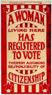 1920 Missouri Suffrage Flyer