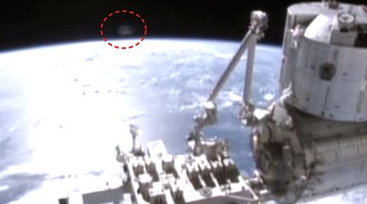 Avistamientos de OVNIs 2014: OVNI sobre la Tierra sigue a la Estación Espacial Internacional a la misma velocidad