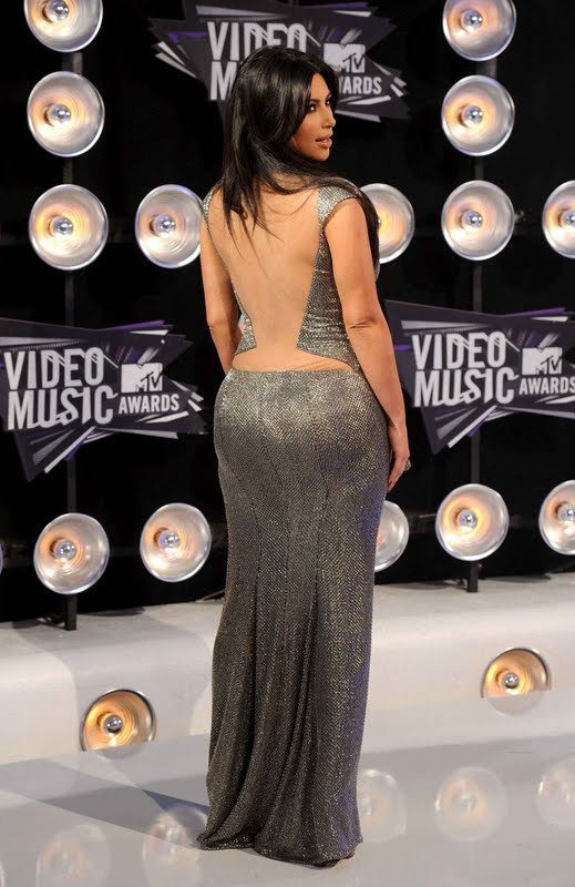 Kim Kardashian at 2011 MTV Video Music Awards
