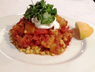 Jamie Oliver Jalfrezi Curry With Vegetables and Chana Dal Recipe