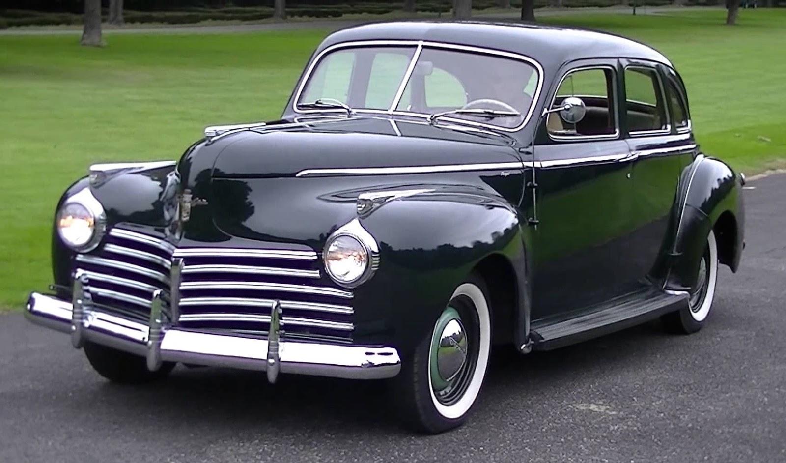 Car Design Style Renault Loved Pontiac Hudson And Chrysler In 1942 1941 Silver Streak Royal Sales Photo