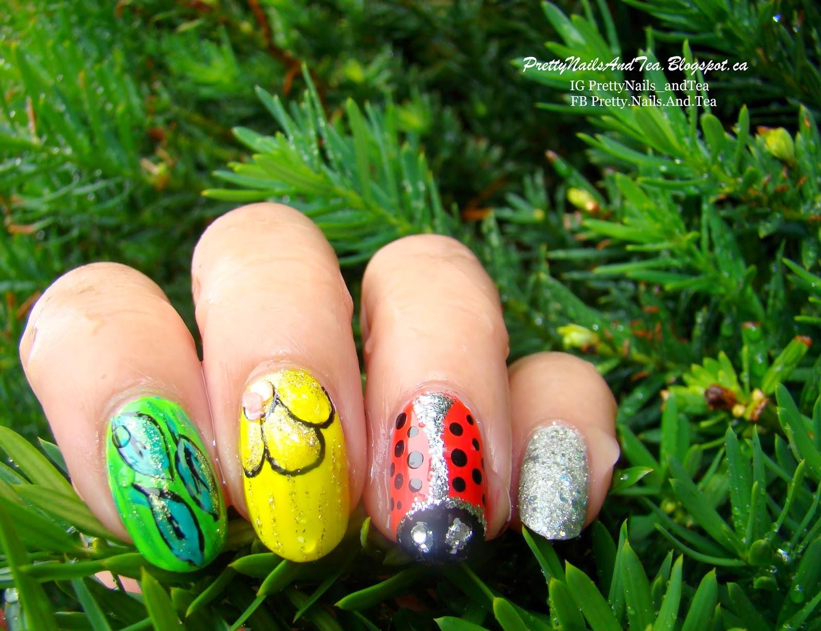 LadyBug Nails