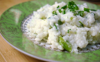 Easy Lemon Asparagus Risotto with Step by Step Instructions