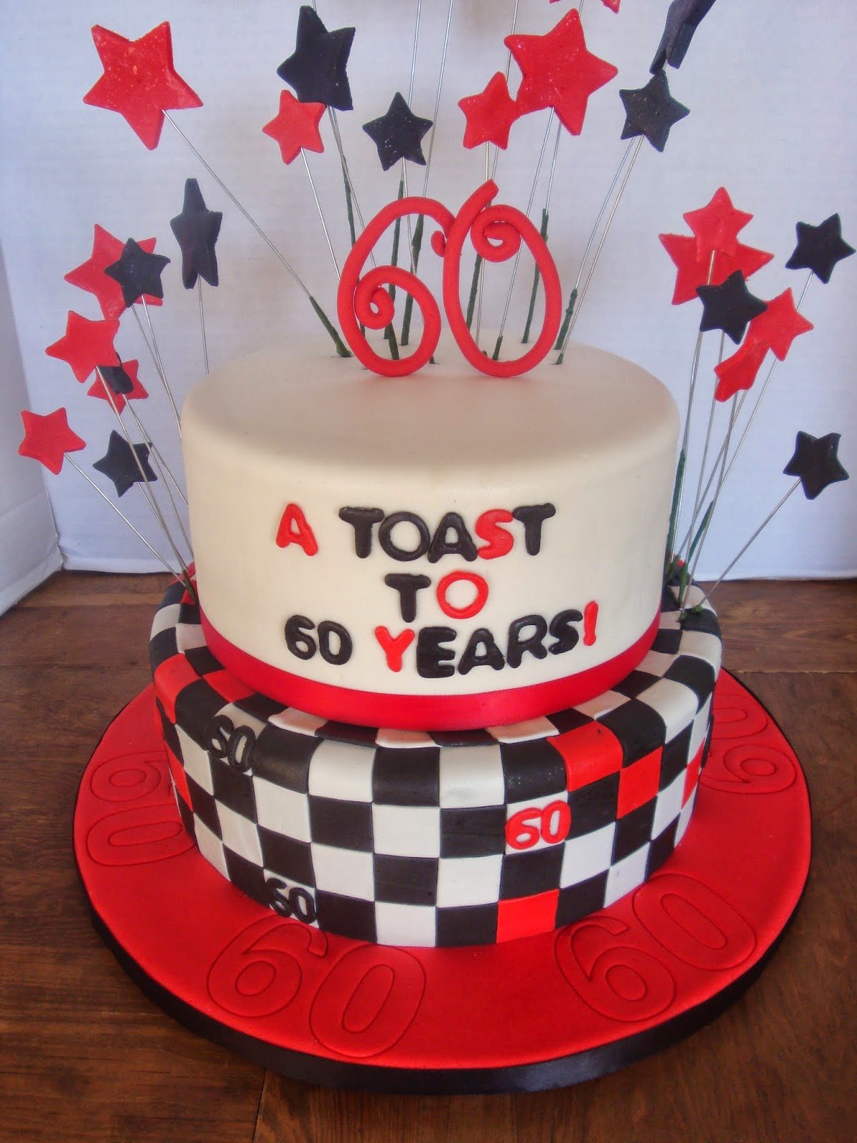Sugar Britches Cakes Happy 60th Birthday Bob