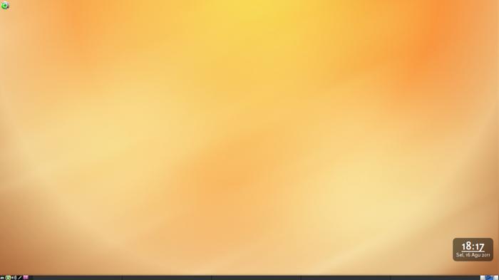 BlankOn 7.0 Pattimura dengan desktop GNOME