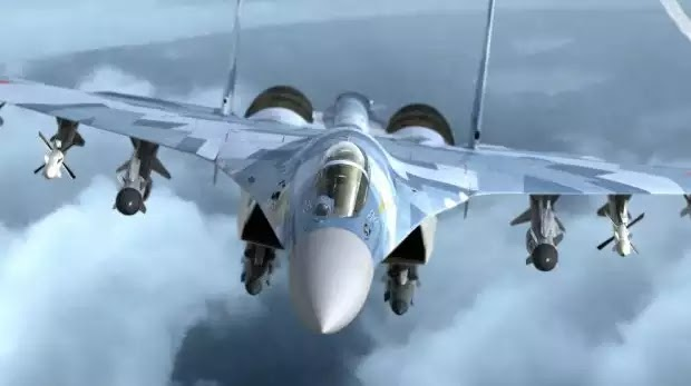 Ρωσική επίδειξη δύναμης προς Τουρκία και ΗΠΑ στη Συρία: Πως το Su-35S ταπείνωσε το F-22 με τα τουρκικά F-16 (βίντεο)
