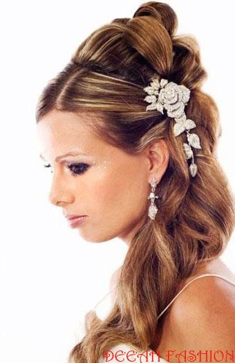 Sanggul Rambut Romantis Untuk Resepsi Pernikahan