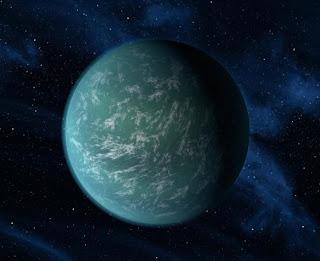 Planeta Kepler 22b - primeiro planeta encontrado em zona habitável