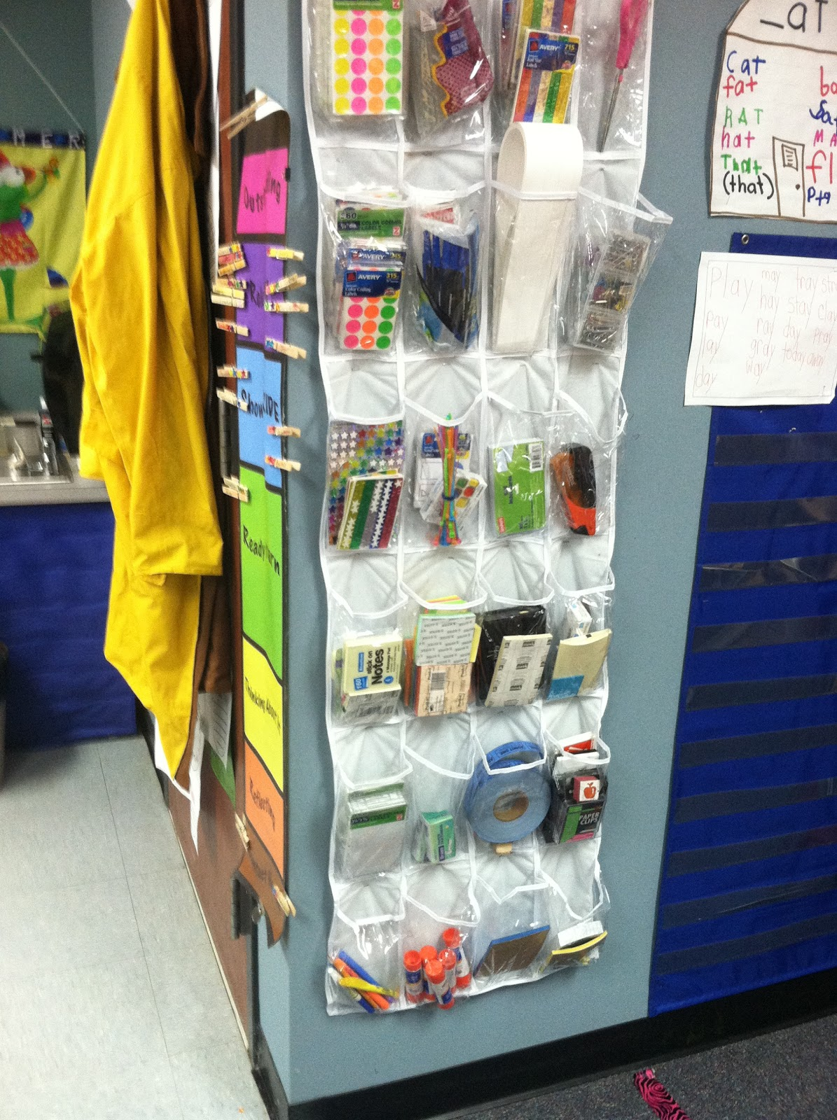Kindergarten photos from mrs partin 39 s classroom the - Classroom desk organization ideas ...