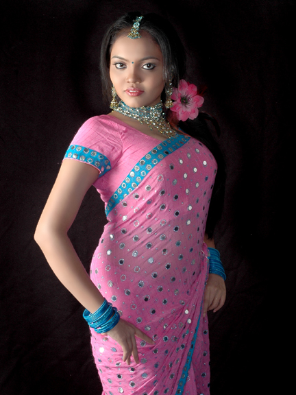 Actress Nikisha Desi Traditional Styles Spicy Stills Photo Shoots glamour images