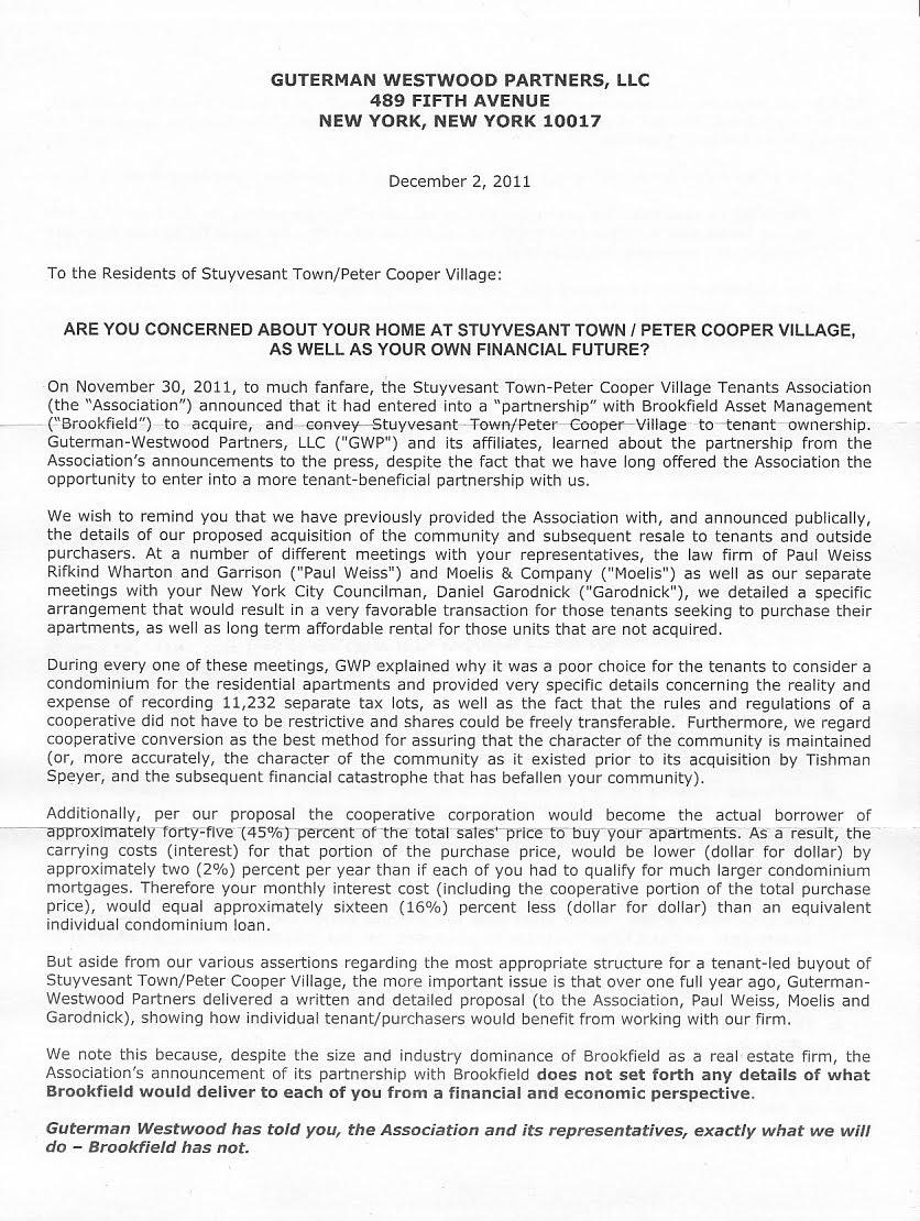 Stuyvesant High School Acceptance Letter