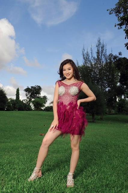 wutt mhone shwe ye, myanmar model girl