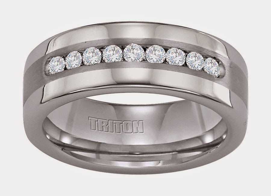 Triton Mens Diamond Wedding Bands Design pictures hd