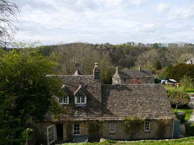 A view across the valley at Sapperton, Cotswolds