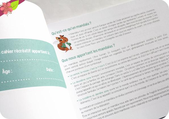 Mon cahier récréatif Mandalas de Eduka-3000 et Mauricette Ewing - éditions Eyrolles