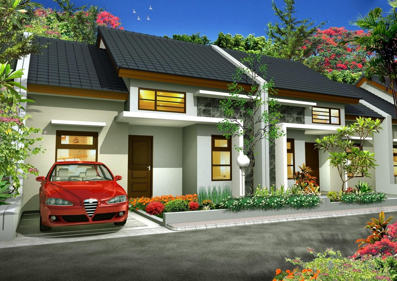 model rumah lantai 1