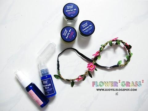 Sponsored Review: Flower² Grass² - Toner, Night Cream, Seaweed Cream, Eye Cream and Day Cream