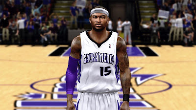 NBA 2K13 DeMarcus Cousins Cyber Face Mods