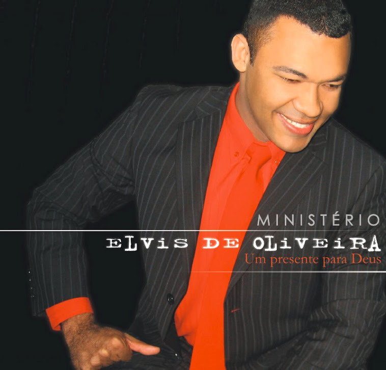"""Meu 1º CD """"Um Presente para Deus""""."""