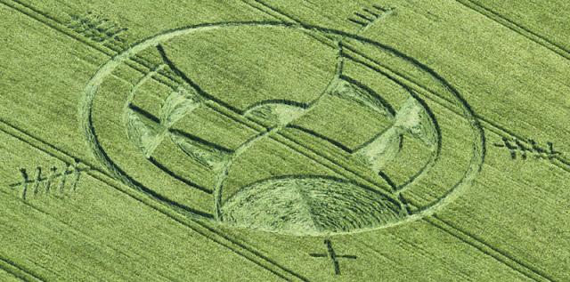 Αγρογλυφικο στo Wiltshire