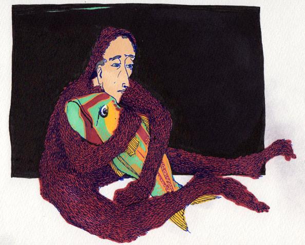 Thyra Heder Illustration