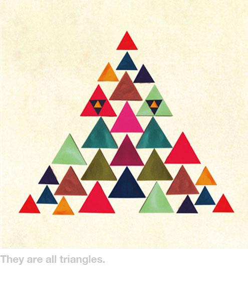 Takahiro Kurashima, diseño grafico,arte,art,graphic design,cuento,niños,book,niños,triangulos,triangles,red,rojo,colores