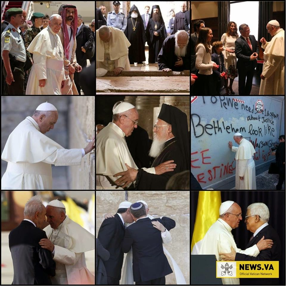 Papa Francesco pellegrino di pace