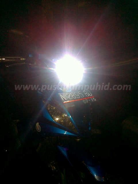 Lampu HID Motor RICHTER putih 6000k