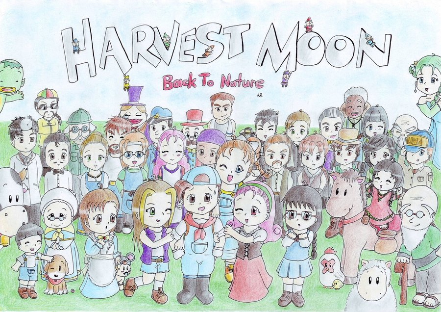 Keanehan] Di Harvest Moon Back To Nature Indonesia