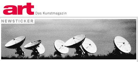 art | das kunst-magazin: newsticker
