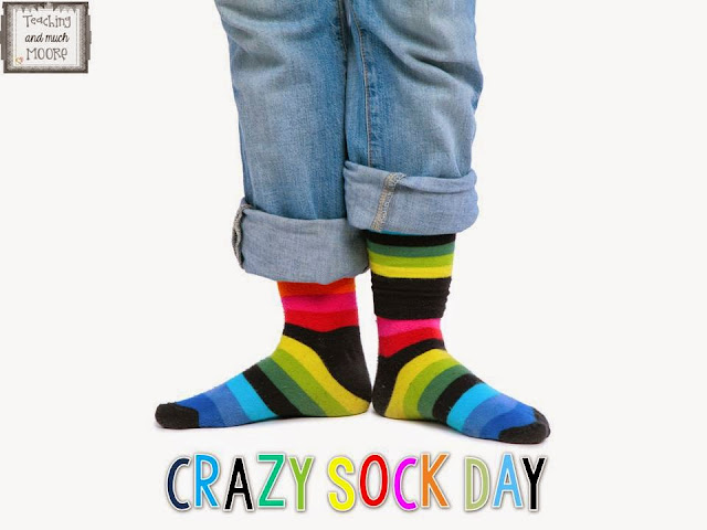 Crazy Sock Day Clip Art Primary chalkboard: may 2015