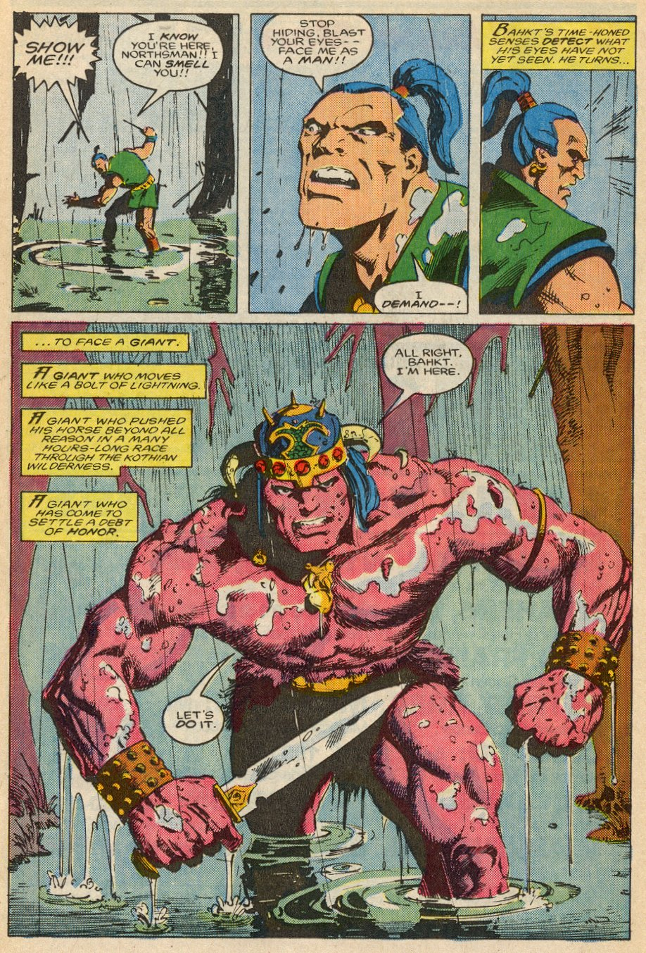 Conan the Barbarian (1970) Issue #195 #207 - English 21