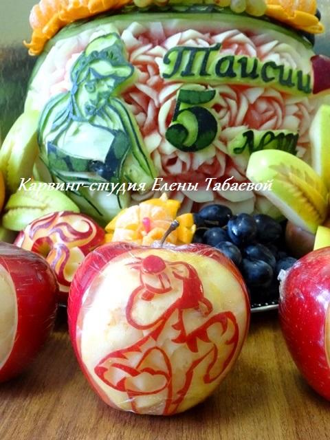 фруктовое блюдо на заказ южно-сахалинск