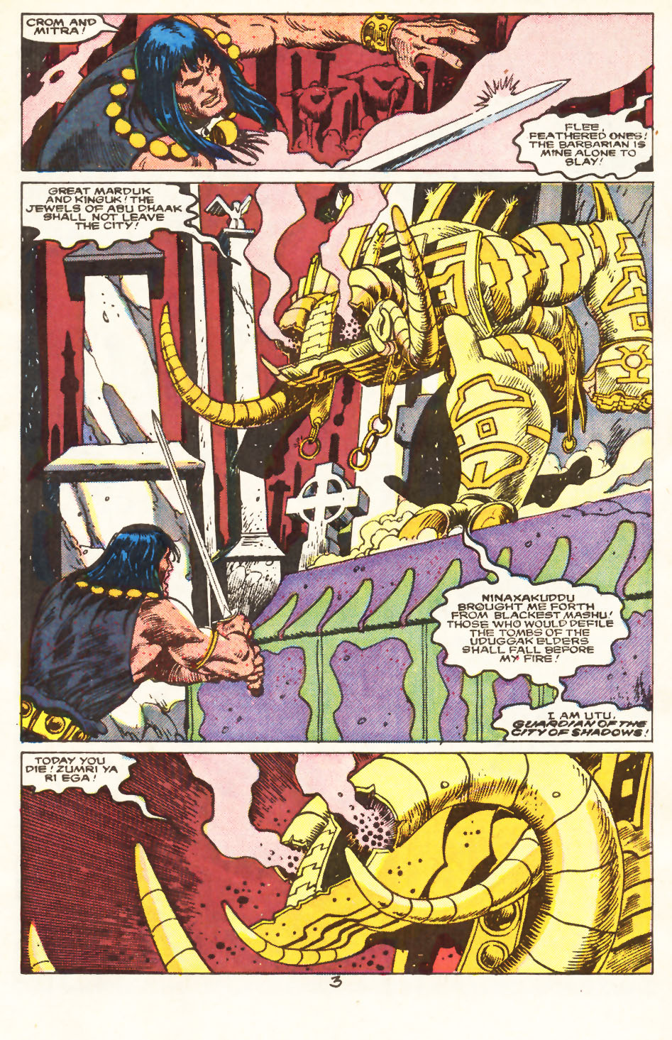 Conan the Barbarian (1970) Issue #217 #229 - English 4
