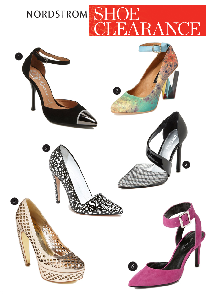 nordstrom, pumps, jeffrey campbell, alice and olivia, Ted baker, nine west