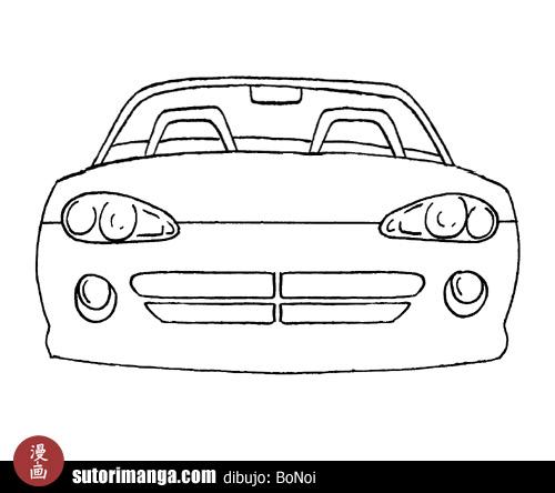 De autos para dibujar faciles - Imagui