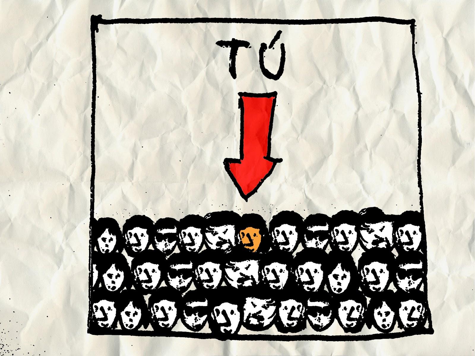 TIC TAC ELE: Uno + uno= multitud