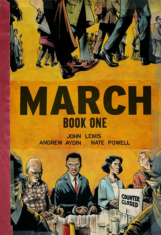 March book one john lewis cover